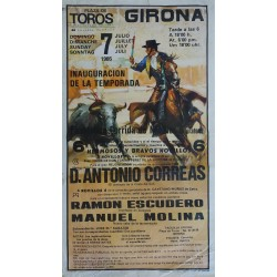 1985 Girona Bullfighting - Original Vintage Poster