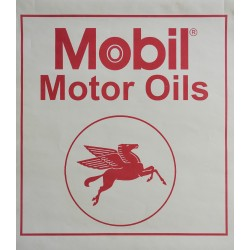 1970s Pegasus Mobil Oil Advertisement - Original Vintage Poster