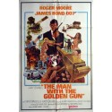 "1974 James Bond ""The Man with the Golden Gun"" - Original Vintage Poster"
