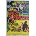 1952 Ivory Hunter Movie Poster - Original Vintage Poster
