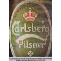 1970s Carlsberg Beer (Bottle) - Original Vintage Poster