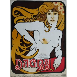 1976 Dagny (Norwegian-Polish Movie Poster) - Original Vintage Poster