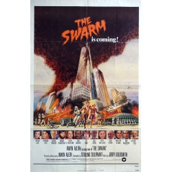 1978 The Swarm Horror Movie - Original Vintage Poster