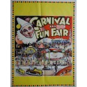 1950s Carnival and Fun Fair (Mammoth Circus) - Original Vintage Poster
