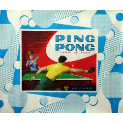 1963 Ping Pong Advertisement - Original Vintage Poster