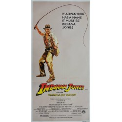 1984 Indiana Jones & The Temple of Doom - Original Vintage Poster
