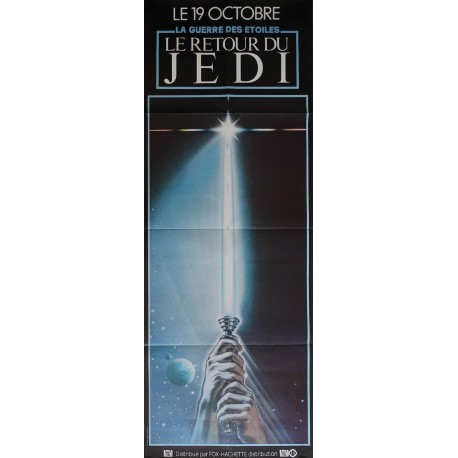 1983 Star Wars Return of the Jedi Movie Poster (French door panel) - Original Vintage Poster