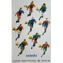 1982 World Cup Spain (Oviedo) - Original Vintage Poster