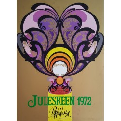 1972 Wiinblad Jewelry for A. Michelsen - Original Vintage Poster