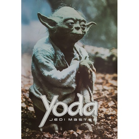 "1980 Master Yoda Star Wars ""The Empire Strikes Back"" - Original Vintage Poster"