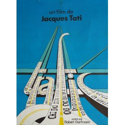 1971 Trafic Movie Poster - Original Vintage Poster