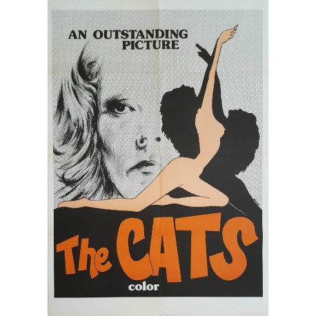 1976 The Cats Movie Poster - Original Vintage Poster