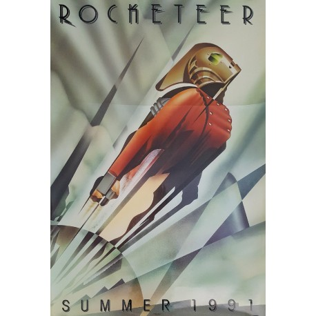 1991 Rocketeer Movie Poster 1sh - Original Vintage Poster
