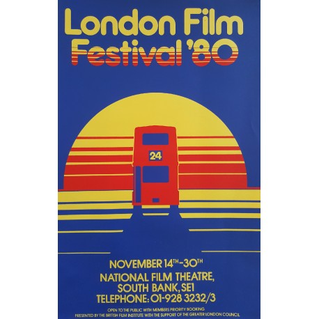 1980 London Film Festival - Original Vintage Poster