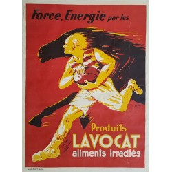 1930s Produits Lavocat (French Food Advertisement) - Original Vintage Poster