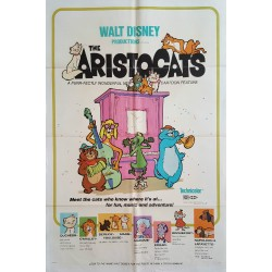 1971 Aristocats Advertisement - Original Vintage Poster