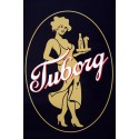 1995 The Golden Lady of Tuborg Beer - Original Vintage Poster