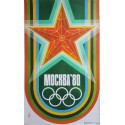 1980 Summer Olympics Moscow Soviet Union - Original Vintage Poster