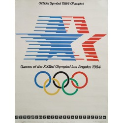 1984 Olympic Games Los Angeles - Original Vintage Poster