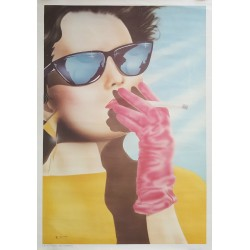 1985 Fashion Poster (Germany) II - Original Vintage Poster