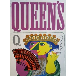 1950s Wiinblad Queen's Screenprints (two posters) - Original Vintage Posters