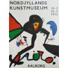 1974 Miro Art Exhibition Poster - Original Vintage Poster