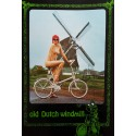 1967 Old Dutch Windmill (Naked Lady on a Bike) - Original Vintage Poster