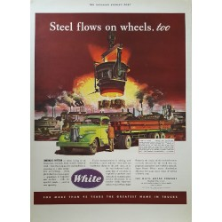 1948 White Motor Company - Original Vintage Poster