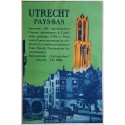 1929 Utrecht Holland Travel Poster by Joseph Rovers - Original Vintage Poster