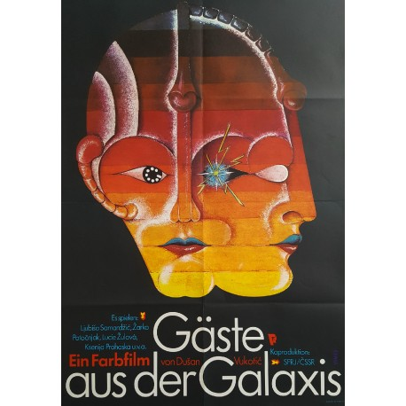 1983 Visitors from the Galaxy - Original Vintage Poster