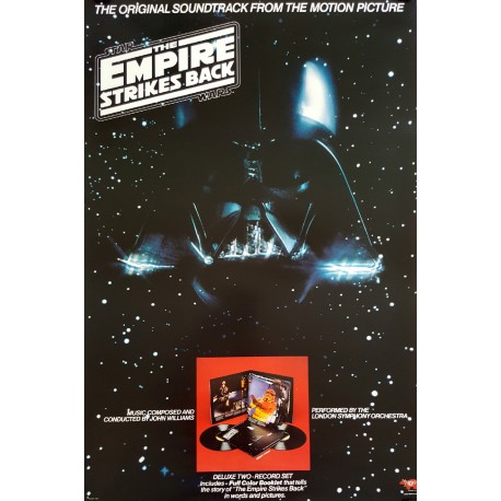 1980 Star Wars The Empire Strikes Back (Soundtrack Version) - Original Vintage Poster