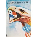 1989 Panama - To Resist Is To Win - Original Vintage Poster