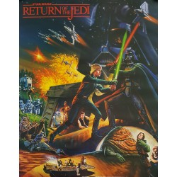 1983 Return of the Jedi Two-Sided Special Poster - Original Vintage Poster