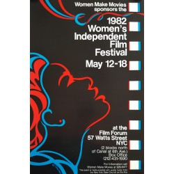 1982 Women's Independent Film Festival - Original Vintage Poster