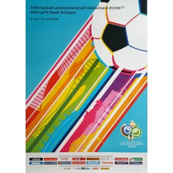 2006 World Cup Germany - Soccer/Football Championship - Original Vintage Poster