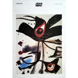 1989 Miro Art Exhibition Poster - Original Vintage Poster