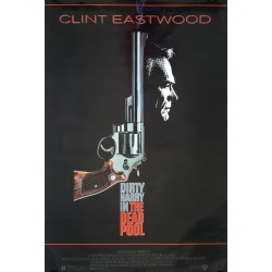 1988 Dirty Harry in Dead Pool feat. Clint Eastwood Movie Poster - Original Vintage Poster