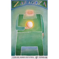 1982 World Cup Spain (Zaragoza) - Original Vintage Poster