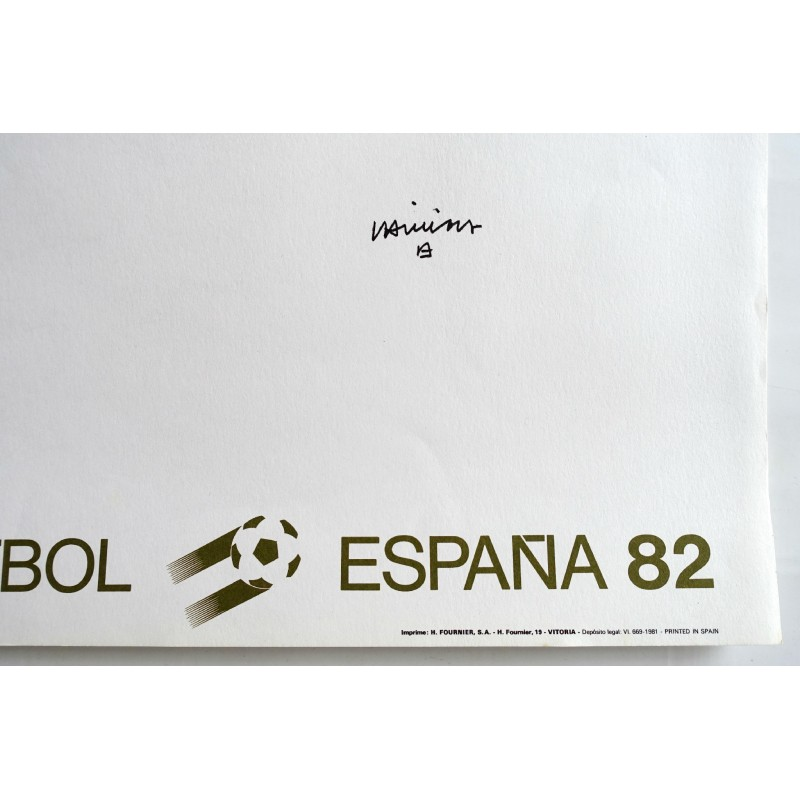 1982 World Cup Spain Bilbao Original Vintage Poster