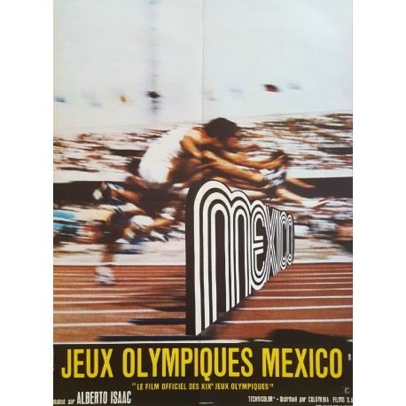 1971 Olympic Games Mexico Documentary - Original Vintage Poster