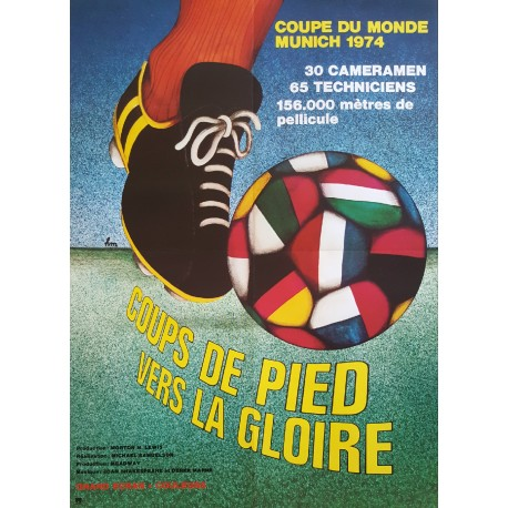 1975 World Cup Football/Soccer Documentary - Original Vintage Poster