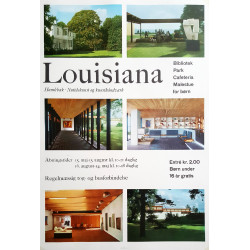 1970s Louisiana Museum of Modern Art - Original Vintage Poster