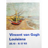 1963 Van Gogh on Louisiana Museum of Modern Art - Original Vintage Poster