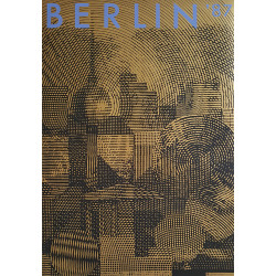 1987 Berlin Germany Travel Poster - Original Vintage Poster