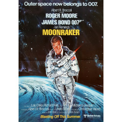 1979 James Bond Moonraker (1sh) - Original Vintage Poster