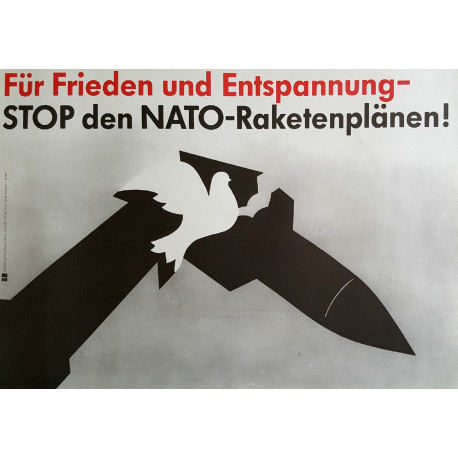 1980 Anti-Nuclear Campaign Poster - Original Vintage Poster