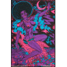 1973 Moon Princess Psychedelic Poster by John Lykes - Original Vintage Poster