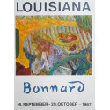 1967 Bonnard on Louisiana Museum of Modern Art - Original Vintage Poster