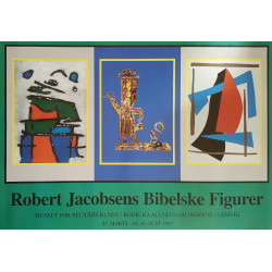 1997 Robert Jacobsen Sculpture Exhibition Poster - Original Vintage Poster